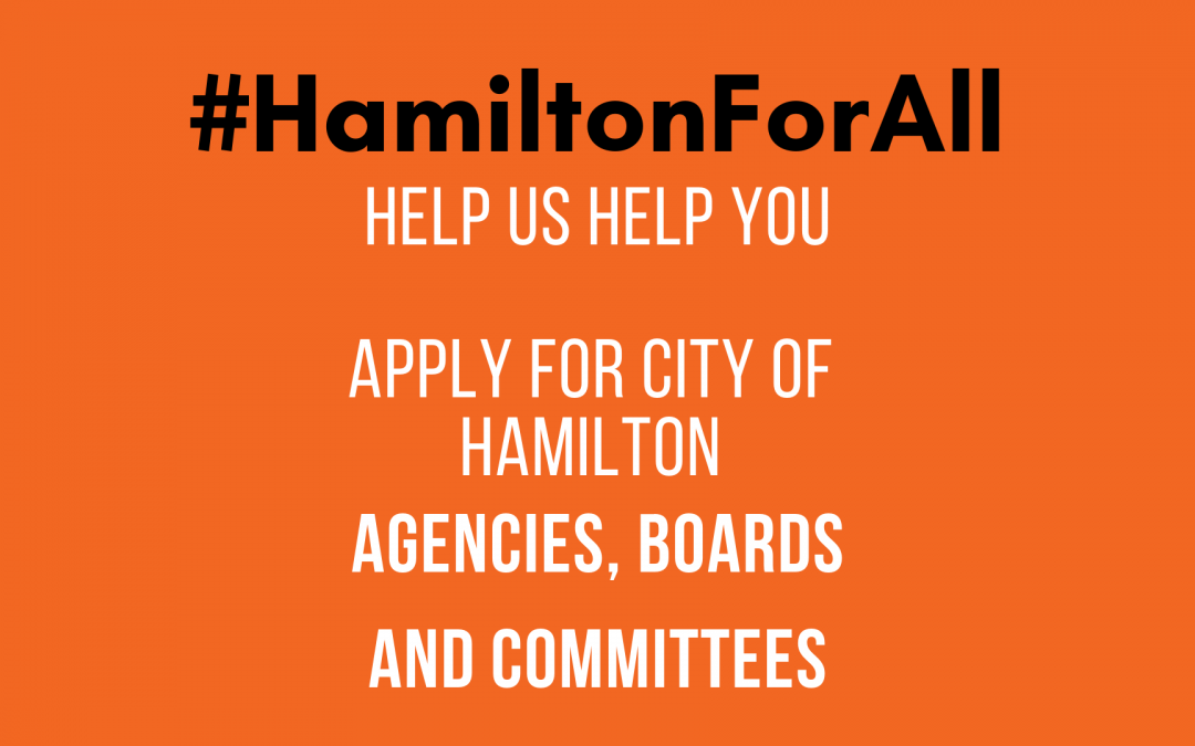 City of Hamilton Agencies, Boards, & Committees Workshop