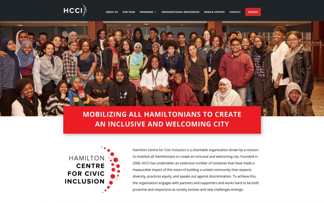 Hamilton Centre for Civic Inclusion launches new brand identity, website, and messaging and program structure