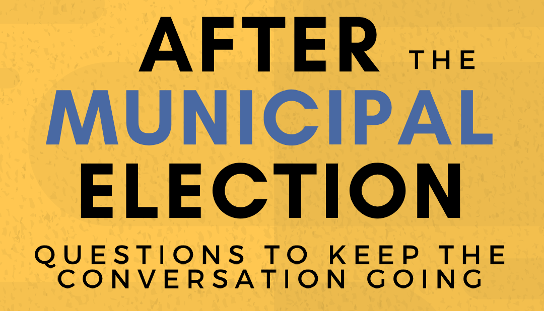 After the 2018 Municipal Elections