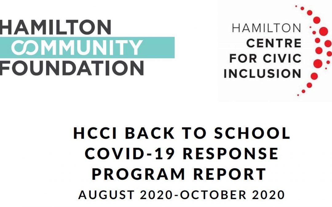 HCCI COVID-19 Response – Black Youth